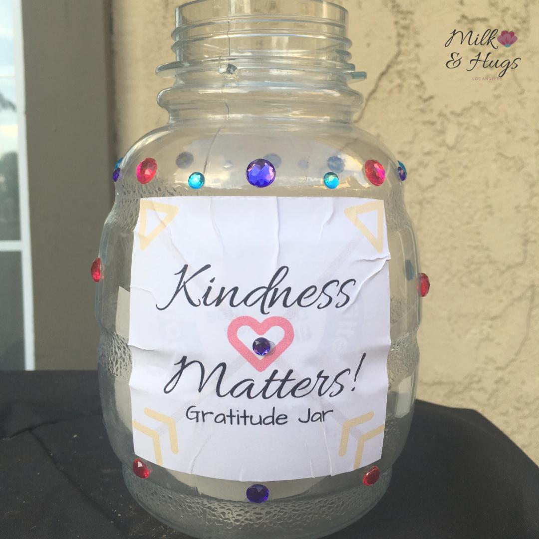 Kindness Jar Milk And Hugs